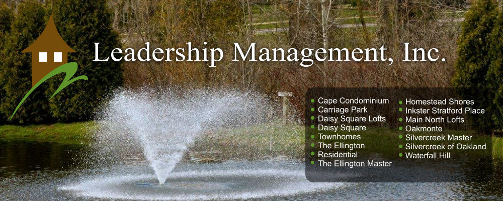 Professionally Managed Site - Leadership Management